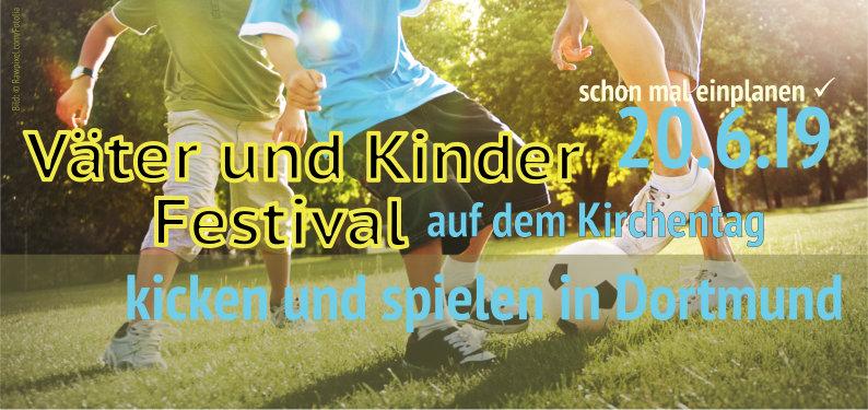 (Groß-) Väter-Kinder-Festival auf dem Kirchentag