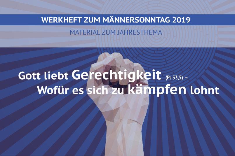 Werkheft zum Männersonntag 2019 erschienen