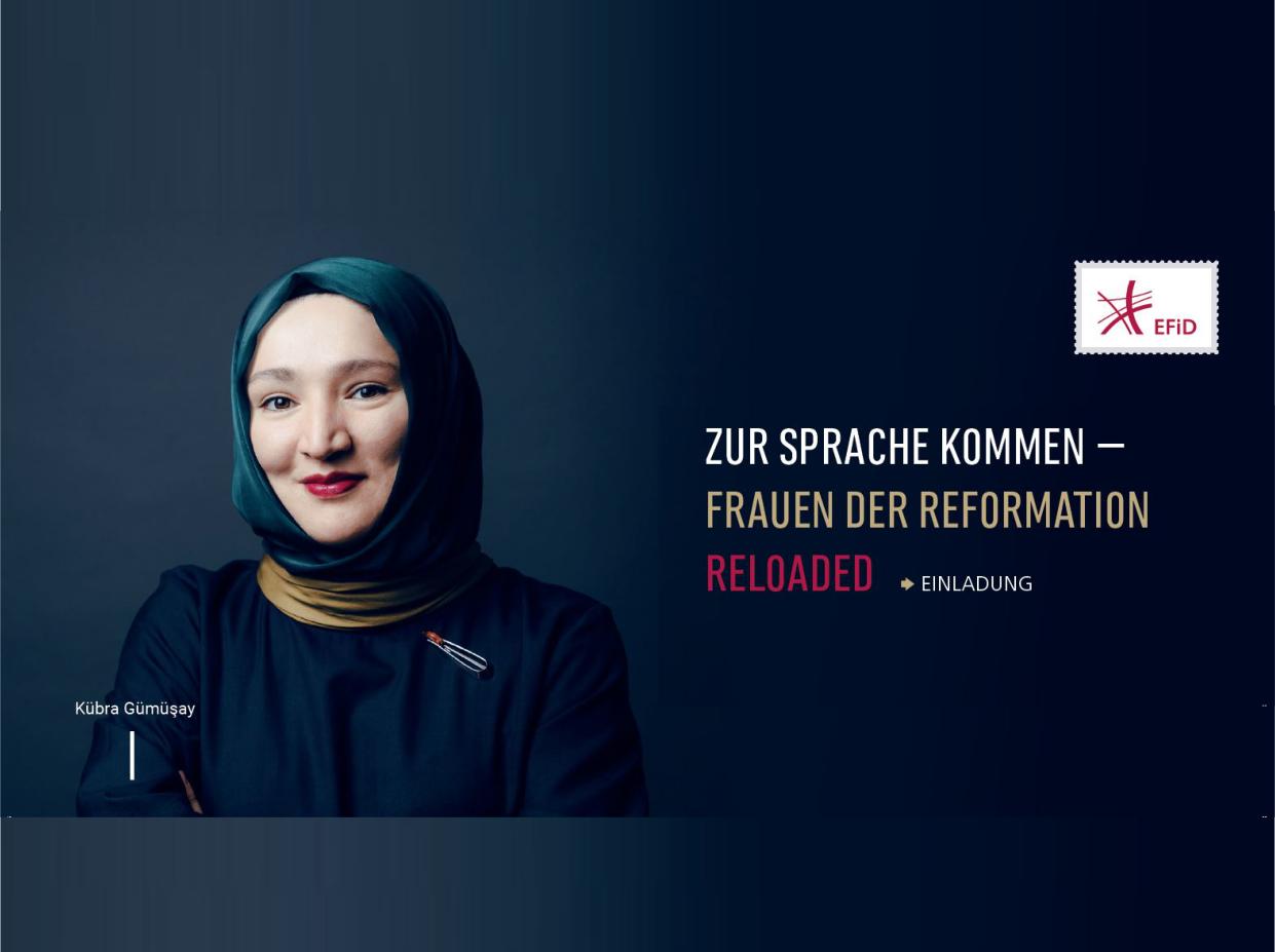 Zur Sprache kommen – Frauen der Reformation reloaded