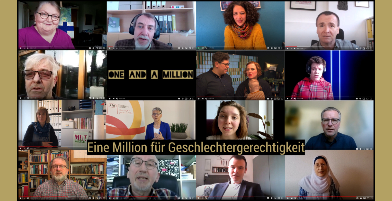 One and a million – für Geschlechtergerechtigkeit